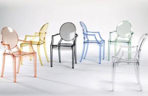 Sedie Di Plastica Trasparenti : Sedie d arredo per esterno e interno in plastica o policarbonato
