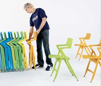 Sedie salva spazio (richiudibili, pieghevoli o impilabili)
