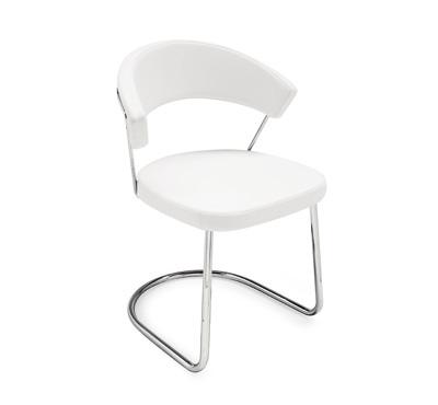 Sedie Moderne Pelle E Acciaio.Come Scegliere La Sedia Giusta In Base Al Tipo Di Materiale