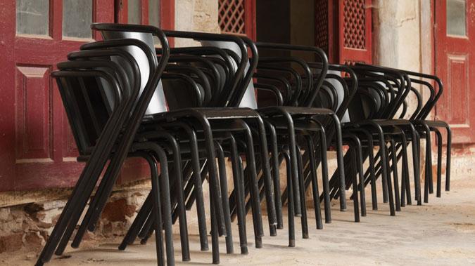 Sedie impilabili per interno o esterno