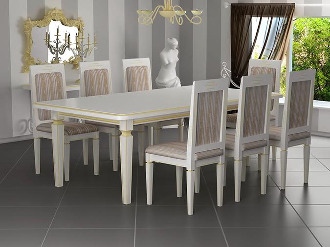 Come scegliere le sedie adatte alla sala da prazo - Sedie per sala pranzo ...